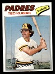 1977 Topps #158  Ted Kubiak  Front Thumbnail
