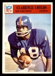 1966 Philadelphia #121  Clarence Childs  Front Thumbnail