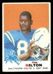 1969 Topps #160  Roy Hilton  Front Thumbnail