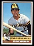 1976 Topps #289  Enzo Hernandez  Front Thumbnail