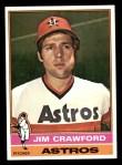 1976 Topps #428  Jim Crawford  Front Thumbnail