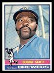 1976 Topps #15  George Scott  Front Thumbnail