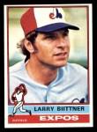 1976 Topps #238  Larry Biittner  Front Thumbnail