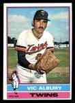 1976 Topps #336  Vic Albury  Front Thumbnail