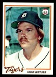 1978 Topps #94  Chuck Scrivener  Front Thumbnail