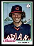 1978 Topps #575  Pat Dobson  Front Thumbnail