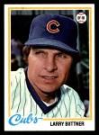 1978 Topps #346  Larry Biittner  Front Thumbnail
