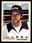 1978 Topps #672  Don Kessinger  Front Thumbnail