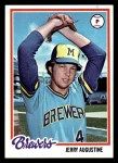 1978 Topps #133  Jerry Augustine  Front Thumbnail