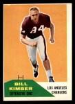 1960 Fleer #121  Bill Kimber  Front Thumbnail