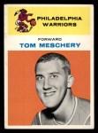 1961 Fleer #31  Tom Meschery  Front Thumbnail