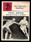 1961 Fleer #45   -  Paul Arizin In Action Front Thumbnail