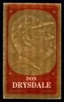 1965 Topps Embossed #15   Don Drysdale   Front Thumbnail