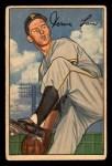 1952 Bowman #71  Vern Law  Front Thumbnail
