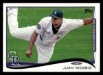 2014 Topps #13  Juan Nicasio  Front Thumbnail