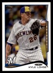 2014 Topps #51  Kyle Lohse  Front Thumbnail