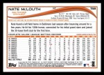 2014 Topps #158  Nate McLouth  Back Thumbnail