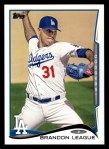 2014 Topps #173  Brandon League  Front Thumbnail