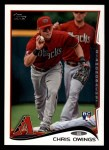 2014 Topps #232  Chris Owings  Front Thumbnail
