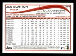 2014 Topps #269  Joe Blanton  Back Thumbnail