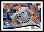 2014 Topps #330  Evan Longoria  Front Thumbnail