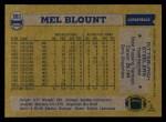1982 Topps #203  Mel Blount  Back Thumbnail