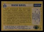 1982 Topps #383  Rich Saul  Back Thumbnail