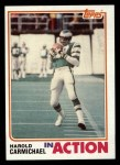 1982 Topps #441   -  Harold Carmichael In Action Front Thumbnail