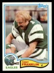 1982 Topps #443  Tony Franklin  Front Thumbnail
