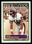 1983 Topps #35  Bob Parsons  Front Thumbnail