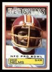 1983 Topps #195  Mike Nelms  Front Thumbnail
