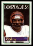 1983 Topps #236  Isaac Curtis  Front Thumbnail