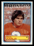 1983 Topps #264  Rich Karlis  Front Thumbnail