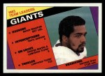 1984 Topps #310   Giants Leaders Front Thumbnail