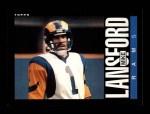 1985 Topps #84  Mike Lansford  Front Thumbnail