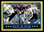 1986 Topps #9   Bears Leaders Front Thumbnail