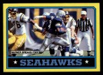 1986 Topps #200   Seahawks Leaders Front Thumbnail