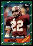 1986 Topps #184  Curtis Jordan  Front Thumbnail