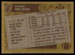 1986 Topps #294  Darrin Nelson  Back Thumbnail