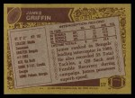 1986 Topps #265  James Griffin  Back Thumbnail