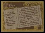 1986 Topps #207  Joe Nash  Back Thumbnail