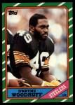 1986 Topps #290  Dwayne Woodruff  Front Thumbnail
