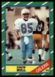 1986 Topps #353  Drew Hill  Front Thumbnail