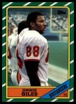 1986 Topps #378  Jimmie Giles  Front Thumbnail