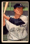 1952 Bowman #145  Johnny Mize  Front Thumbnail