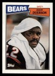 1987 Topps #61  Dave Duerson  Front Thumbnail