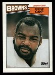 1987 Topps #88  Reggie Camp  Front Thumbnail