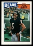1987 Topps #50  Kevin Butler  Front Thumbnail
