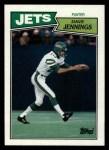 1987 Topps #140  Dave Jennings  Front Thumbnail