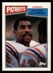 1987 Topps #110  Raymond Clayborn  Front Thumbnail